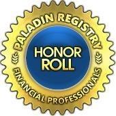 Paladin Registry Honor Roll Advisor