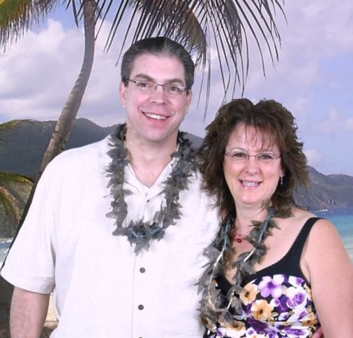 Bryan and Jan on vacation